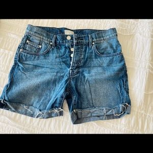 Mother Brand Jean shorts